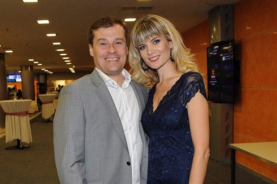 Iveta Vítová a její manžel Jaroslav (4. října 2014)