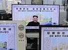 Zpráva o návratu Kim Čong-una dominovala jihokorejským médiím (14. října 2014)