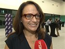 Adriana Krnáčová, úsměv