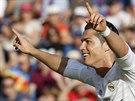 JSEM NEZASTAVITELNÝ! Cristiano Ronaldo, útočník Realu Madrid, slaví svůj druhý...