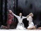 Scéna z opery Pád Arkuna