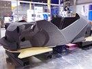 Karos�rie a podvozek jsou vyroben� z jedin�ho kusu. Celkem firma Local motors...
