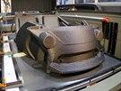 Limitem velikosti automobilu byla velikost samotn� tisk�rny. Nejvy��� d�l m�...