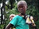 Děti z kmene Endorois.