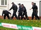 Policisté zasahují v okolí obchodní akademie ve Žďáře nad Sázavou, kde útočnice...