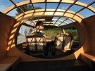 Také vnitřek Dymaxionu je více než zajímavý a neobvyklý.