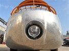 Vypadá to jako automobil ze sci-fi filmů. Dymaxion je prostě hodně futuristické vozidlo.
