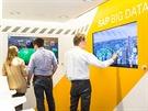 Uvnitř náklaďáku plného velkých dat - SAP Big Data truck
