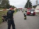 Do okolí výbuchu policisté ještě několik dní nebudou pouštět veřejnost.