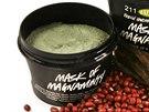 �ist�c� maska Mask of Mangaminty s bentonitov�m gelem, kaol�nem, mlet�mi fazolkami adzuki pro �ist� p�ry, Lush, od 195 K�