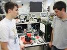 Rozpracovaná sonda a mladí brněnští vědci