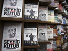 V knihkupectví v Istanbulu se dají koupit knihy o známých teroristech.