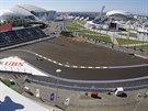 Okruh v ruském Soči zažije první Velkou cenu formule 1.