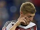 Německého fotbalistu Toniho Kroose mrzí ztráta bodů po remíze s Irskem.