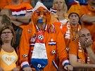 Nizozemští fanoušci v akci