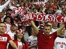 Polští fanoušci v akci