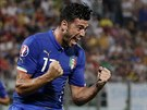 Ital Graziano Pelle slaví gól proti Maltě.