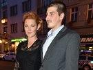 Zpěvačka Debbi a její partner Tomáš Ouřada