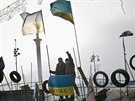 KAREL CUDLÍN, RESPEKT: Majdan Nezaležnosti, Kyjev, Ukrajina, 2013 (Cena ČTK)