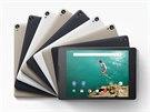 Tablet Google Nexus 9 bude v prodeji ve třech barvách.