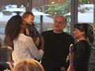 Lejla Abbasov�, jej� syn David, Michael Koc�b a D�da Patrasov� (Praha, 24....