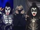 Gene Simmons z kapely Kiss a Chantal Poullain v kalendá�i Prom�ny 2015