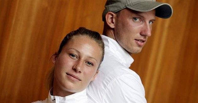 Ji�ina Ptá�níková a Petr Svoboda