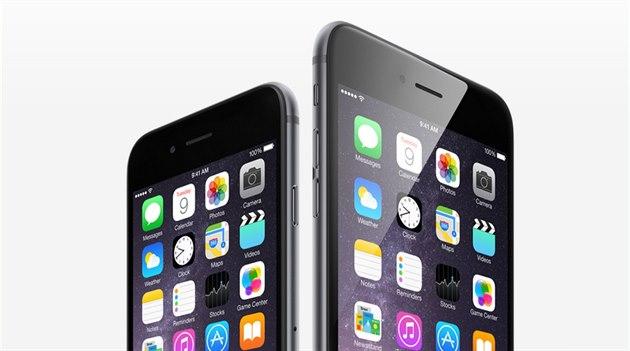 iPhone 6 dostal v�t�ího sourozence v podob� modelu 6 Plus, který je prvním...