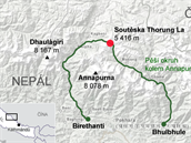 Pěší okruh kolem Annapurny