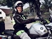 Pavel R�i�ka, motorká� a �len klubu BMW