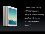 Nov� iPad mini 3 a jeho v�bava