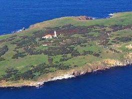 Ostrov Svatého Ivana u Sozopolu v Bulharsku. Poslední ostrov celé expedice