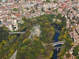 Historické město Veliko Tarnovo, po určitou dobu též hlavní město Bulharska