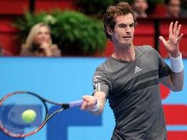 Andy Murray ve finále turnaje ve Vídni.