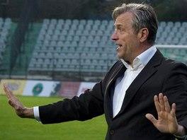 Mostecký trenér Wolfgang Jerat.