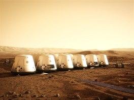 Mars One počítá s konstrukcí marsovské kolonie už v roce 2024