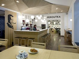 Interiér Café Peroutka