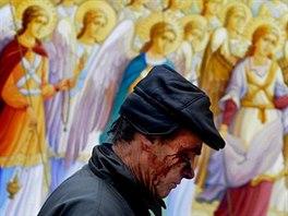 FILIP SINGER, EUROPEAN PRESSPHOTO AGENCY (EPA): Začátek, Kyjev, Ukrajina, zima...