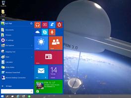 Nová nabídka Start ve Windows 10 kombinuje to lepší z osmiček i sedmiček.