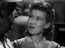 Theodor Pi�t�k a Zorka Jan� ve filmu Z �esk�ch ml�n� (1941)
