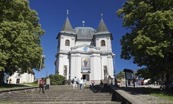 Pověst praví, že Hostýnské při tatarském obléhání zachránila Panna Marie