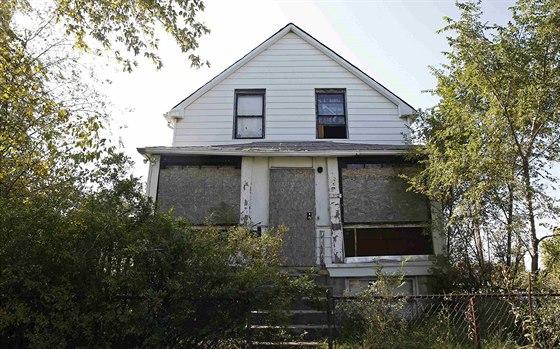 Dům ve městečku Gary, ve kterém Vann ukryl několik těl svých obětí.