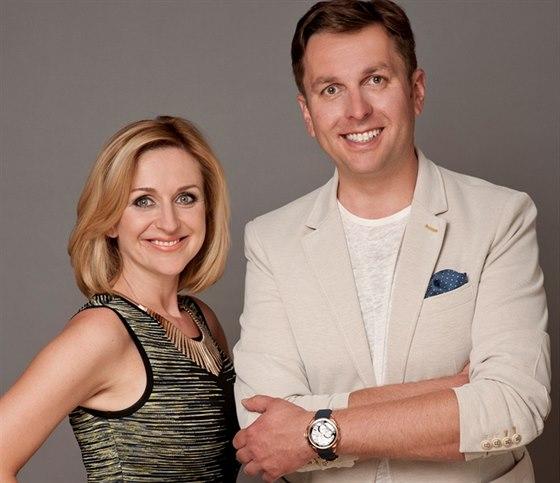 Terezie Kašparovská a Tomáš Hauptvogel se budou střídat na postu moderátora...