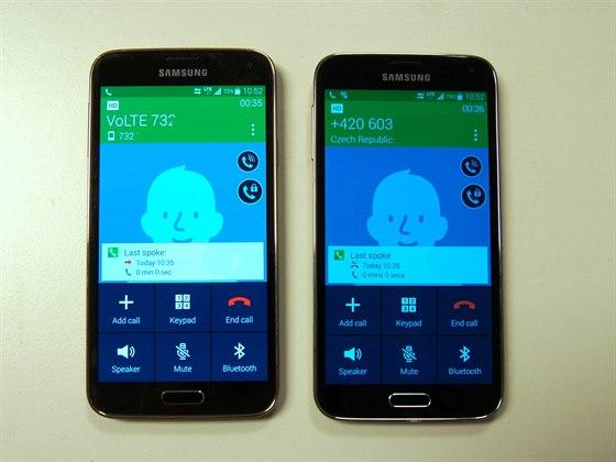 Telefonov�n� p�es VoLTE v s�ti T-Mobile