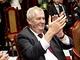 Prezident Milo� Zeman nav�t�vil hlavn� m�sto ��nsk� provincie S�-�chuan....