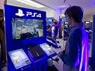 Výstavní síň Mánes místo výtvarných děl vystavuje PlayStation.