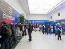 U Mánesa se místo výtvarných děl vystavuje PlayStation