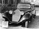 Bugatti 46 jako mistrovské karosářské dílo dílny Oldřicha Uhlíka
