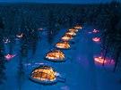 Igloo Village Kakslauttanen (Laponsko, Finsko)