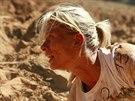 Veronika Petrová na kurzu přežití Operace Izrael.